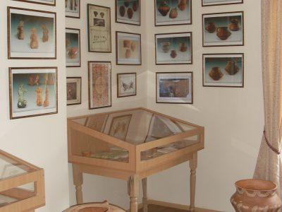 Експозиція другого залу музею Вікентія Хвойки у с. Халеп'я
