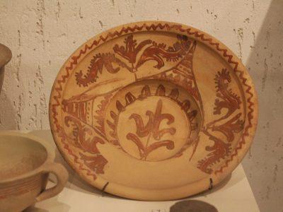 Розписна керамічна миска, с. Трипілля, XVII ст
