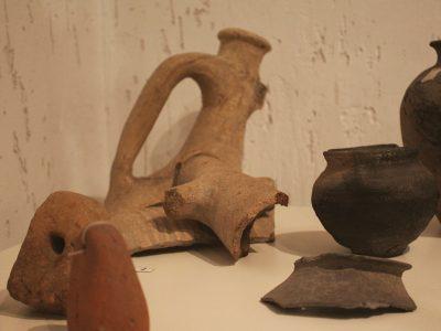 Фрагменти римської амфори з поселення черняхівської культури (ІІІ ст)