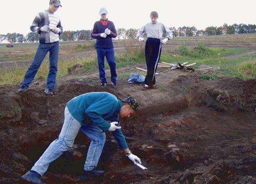 урочище Коломийців Яр, розкопки 2006 року біля с. Копачів