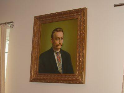 Портрет Івана Франка в експозиції музею Івана Франка