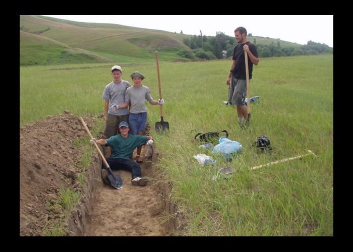 Археологічні дослідження біля с. Долина, 2003 рік