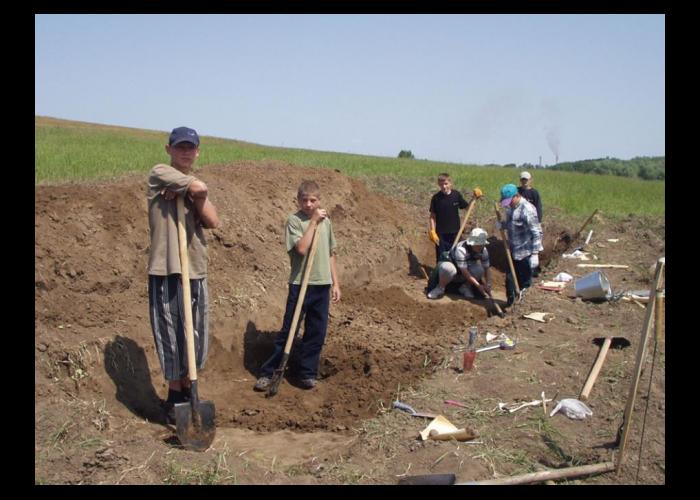 Археологічні дослідження біля с. Щербанівка, 2003 рік