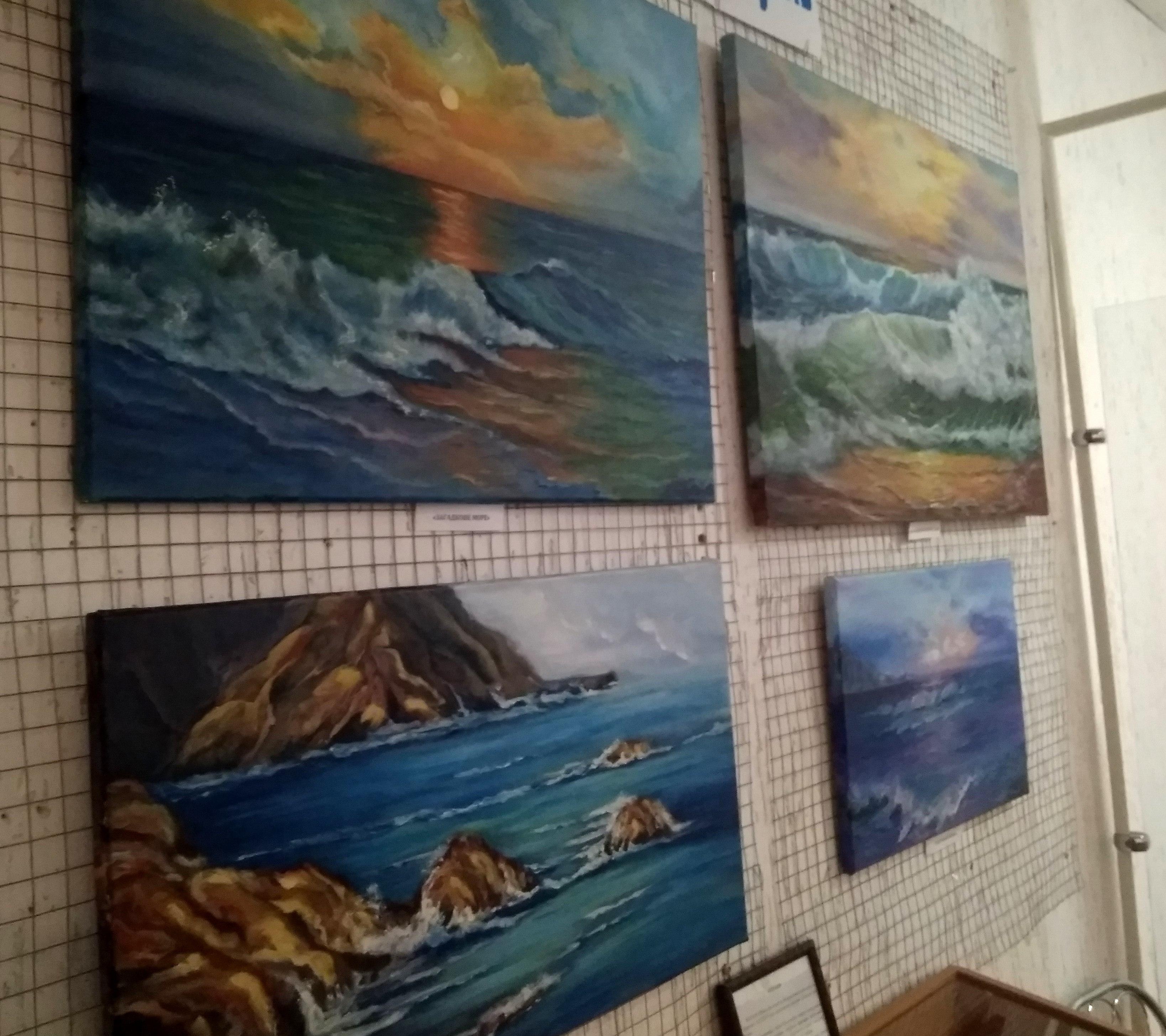 """Персональна виставка картин Ірини Соклакової """"На хвилях почуттів"""" КОАМ"""